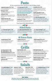 italia price menu at italia 54 56 bridge restaurant prices