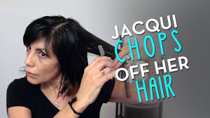 short haircuts to cut yourself choppy bob 2014 by jacqui davis from long to short hair cut