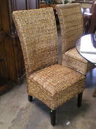 Woven Dining Room Chairs With Well Woven Dining Chair Woven - Woven dining room chairs