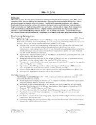 Resume Sample General Objectives by Job Resume General Objective For Resume General Objective For Job