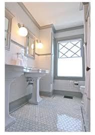 3 easy affordable bathroom updates half walls subway tiles and