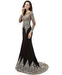 evening gown king s women s rhinestone sleeve mermaid