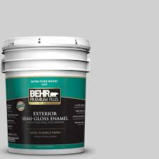behr premium plus 8 oz n520 1 white metal interior exterior