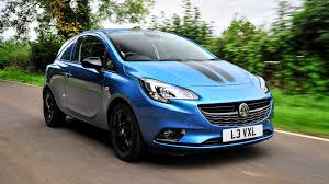 vauxhall blue vauxhall gives corsavan sporting pretensions