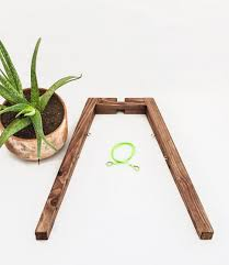 plant stand vintage wood plant stand rustic planter walnut il
