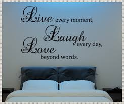 quote wall decals bedroom innovation quote wall decals home image of love quote wall decals