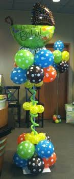 monkey baby shower theme baby shower balloon decor