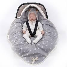 couverture siège auto bébé couverture enveloppante réversible et multi usage pour siège auto