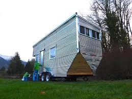 modern tiny house on tumbleweed trailer tiny house listings