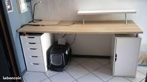 table de travail bureau bureau avec plan de travail ikea