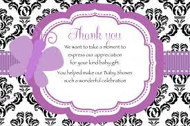 bridal shower thank you card wording best shower