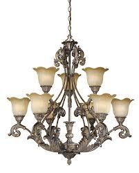 Traditional Chandelier Houston Lightbulb Lighting
