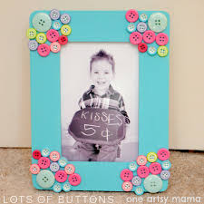 mother u0027s day button frame gift idea yearofcelebrations