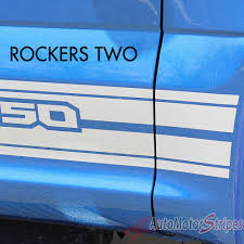 Classic Ford Truck Decals - 2015 2017 ford f 150 rocker 1 one lower rocker stripes vinyl decal