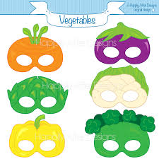 Printable Halloween Masks For Children by Vegetable Printable Masks Carrot Mask Broccoli Mask