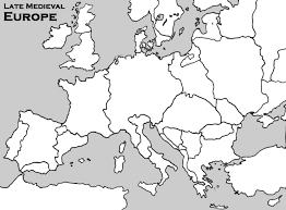 blank map of europe blank outline map of late europe ao year 7
