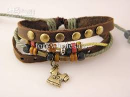 bracelet leather mens images Brand new tribal leather surf bracelets handmade jewelry mens fast jpg