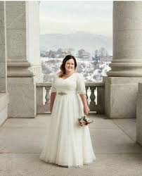 utah rental wedding dress modest lace lds wedding dress