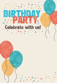 Make Birthday Invitation Cards Online For Free Printable Free Printable Celebrate With Us Invitation Great Site For