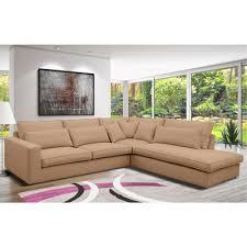 canapé d angle tissu beige canapé d angle à gauche en tissu beige jeanne maison et styles