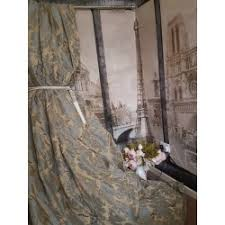 Duck Egg Blue Damask Curtains New Sublime Huge Classic French Damask Duck Egg 135
