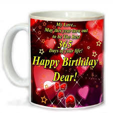 birthday gifts for tohfah4u happy birthday gift set for boyfriend 1 mug 1 key ring