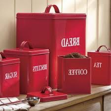 red kitchen canisters shocking vintage canister set coffee tea sugar diner style for red