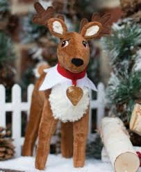 on the shelf reindeer on the shelf plush reindeer and storybook set