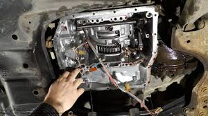 check ball body and spring part location in automatic transmission