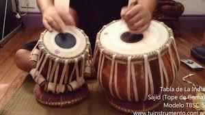 tabla de la india tope de gama tbsc s youtube