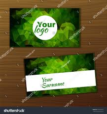 Text Your Business Card Vector Business Card Template You Your Stock Vector 323593679