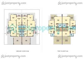 Twin Home Plans by Dso Residences Floor Plans Justproperty Com