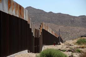 us mexico border wall construction starts on prototypes