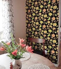 decorating beautiful interior wall decor with peel and stick