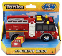tonka fire truck tonka fire engine toughest minis image at mighty ape nz
