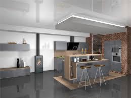 ilot central cuisine contemporaine achat cuisine design avec ilôt central talence cuisines areane