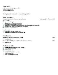 Restaurant Cashier Resume Sample Resume For Hotel And Restaurant Management Graduate