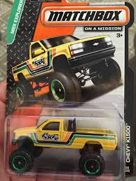 matchbox chevy silverado chevy k1500 toy car die cast and wheels matchbox 2015