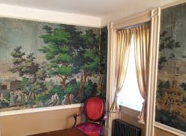 wallpaper home interior phantasmagorias of the interior u0027 a french panoramic wallpaper in