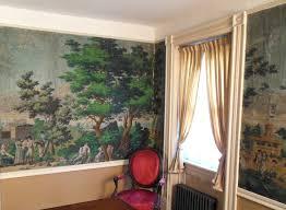 phantasmagorias of the interior u0027 a french panoramic wallpaper in