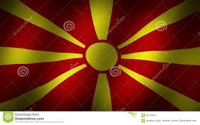 Flag Of Macedonia Macedonia Flag Stock Footage Illustration Of Texture 95275844