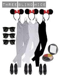 Mice Halloween Costumes Coolest Homemade Blind Mice Girls Group Halloween Costume