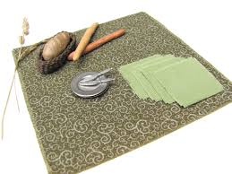 rustic fall woodland green table cloth u0026 napkin set 1 12 scale