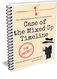 case of the mixed up timeline an international bible