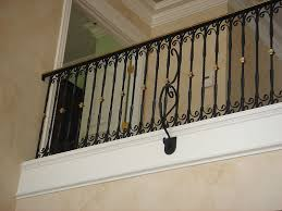 Banister Handrail Interior Railing Metal Fabrication Aluminum Fabrication