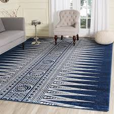 Navy Blue Area Rug 8x10 White Area Rug 8x10 Rug Designs