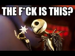 Nightmare Before Christmas Meme - the f ck is this inspired by a tumblr post original youtube