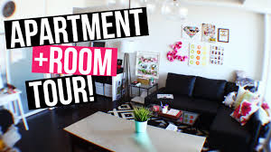 Diy Living Room by Full Apartment Room Tour Laurdiy Youtube