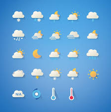 cartoon cute weather icon set android apps on google play