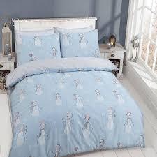 Single Duvet Cover Sets Pieridae Luxury Snowman Single Duvet Cover Quilt Cover Bedding Set